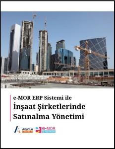 e-MOR ERP Satınalma Yönetimi - Cover