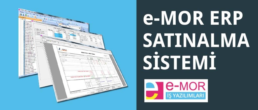 e-MOR Satınalma Sistemi