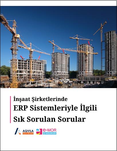 İnşaat ERP Sık Sorulan Sorular - Cover